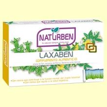 Laxaben - Regulador intestinal - 30 comprimidos - Naturben