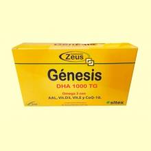 Génesis DHA 1000 TG Omega-3 - 60 cápsulas - Zeus
