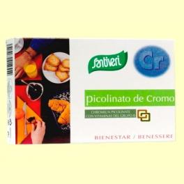 Picolinato de Cromo - 40 cápsulas - Santiveri