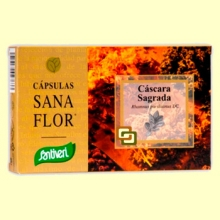 Cascara Sagrada - 60 cápsulas - Santiveri