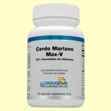 Cardo Mariano Max-V - 60 cápsulas vegetales - Laboratorios Douglas