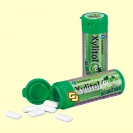 Chicles Xylitol AntiCaries para Niños Sabor Manzana - 30 unidades - Miradent
