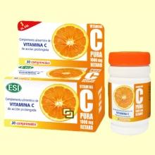 Vitamina C Pura 1000 mg Retard - 30 comprimidos - Laboratorios Esi