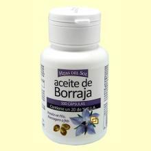 Aceite de borraja - 100 cápsulas - Hijas del Sol