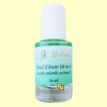Elixir de uñas 10-in-1 con extracto de mirra y keratina - 16 ml - Bohema