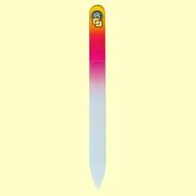 Lima uñas de cristal templado 13,5 cm - Bohema - Color Amarillo Frambuesa