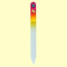 Lima uñas de cristal templado 13,5 cm - Bohema - Color Frambuesa Amarillo