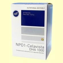 NPD1 - Celavista DHA 1000 - 60 cápsulas - Nutritional Doctors