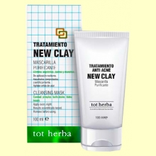 Tratamiento New Clay Anti acné - 100 gramos - Tot herba