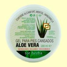 Gel cutáneo Pies Cansados de Aloe Vera - 200 ml - Tot Herba