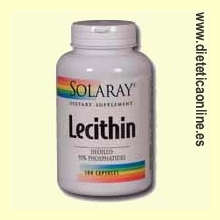 Lecithin 100 cápsulas de Solaray