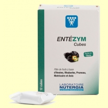 Entezym Masticable - Transito intestinal - 12 cubos - Nutergia