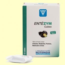 Entezym Masticable - Transito intestinal - 12 cubos - Nutergia