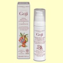 Crema para la cara antioxidante y tonificante Goji - 50 ml - L'Erbolario