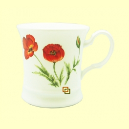 Taza de Porcelana Poppy - 1 unidad - Cha Cult