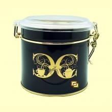 Lata Redonda Cult para Guardar Té o Café con Capacidad para 80 gramos - 1 unidad - Cha Cult