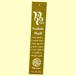 Incienso Natural Rasleela Musk - 20 gramos - H&B