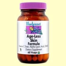 Age-Less Formula para la Piel - 60 cápsulas vegetales - Bluebonnet