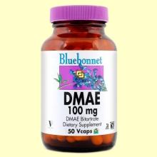 DMAE 100 mg - 50 cápsulas vegetales - Bluebonnet