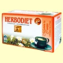 Infusión Herbodiet Modela tu Cuerpo - 20 bolsitas filtro - Novadiet