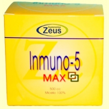 Inmuno 5 max polvo - 500 gramos - Zeus suplementos