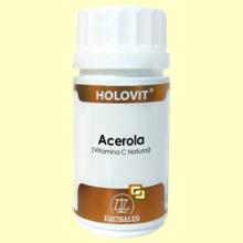 Holovit Acerola - Vitamina C Natural - 50 cápsulas - Equisalud