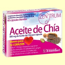 Zentrum Aceite de Chía - 60 cápsulas - Colesterol