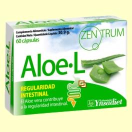 Zentrum Aloe - L - Regulador intestinal - 60 cápsulas - Ynsadiet