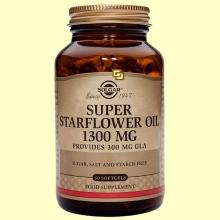Aceite de Borraja 1300 mg - 60 cápsulas blandas - Solgar