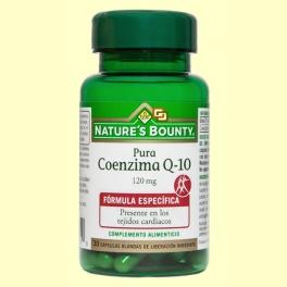 Coenzima Q-10 Pura 120 mg - 30 perlas - Nature's Bounty