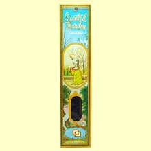 Incienso Scented Garden Patchouly - 12 varillas - Radhe Shyam