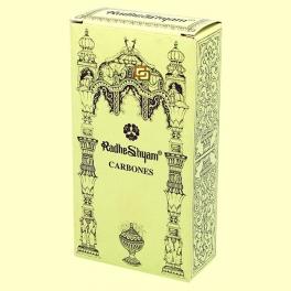 Carbones especiales para incienso - 20 uds - Radhe Shyam