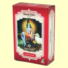 Henna Caoba Oscuro Polvo - 100 gramos - Radhe Shyam