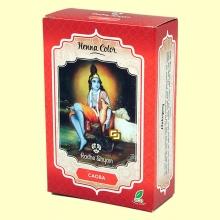 Henna Caoba Polvo - 100 gramos - Radhe Shyam