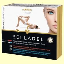 Belladel - Peso saludable y Piel tersa - 60 cápsulas vegetales - Novadiet