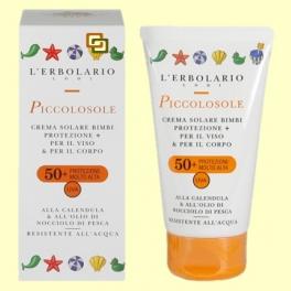 Crema solar para niños Piccolosole SPF 50 - 75 ml - L'Erbolario