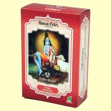 Henna Caoba Luminoso Polvo - 100 gramos - Radhe Shyam