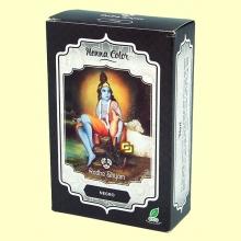 Henna Negro Polvo - 100 gramos - Radhe Shyam