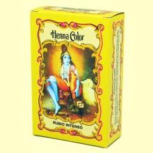 Henna Rubio Intenso Polvo - 100 gramos - Radhe Shyam