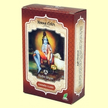 Henna Castaño Claro Polvo - 100 gramos - Radhe Shyam