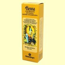 Henna Rubio Ceniza Pasta - 200 ml - Radhe Shyam