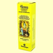 Henna Rubio Dorado Pasta - 200 ml - Radhe Shyam