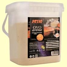 Ovoavena - Tortitas de clara de huevo y avena - 1500 gramos - Mega Plus