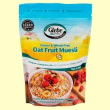 Muesli de Avena Sin Gluten con Fruta - 400 gramos - Glebe Farm