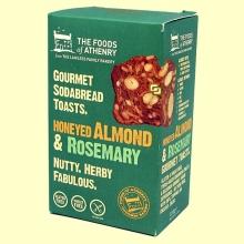 Tostadas Multisemillas Romero, Miel y Almendra Sin Gluten - 110 gramos - The Foods of Athenry *