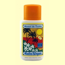 Aceite Protector Solar Monoï de Tahiti Factor 4 - 150 ml - Radhe Shyam