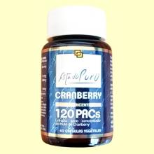 Cranberry 120 PACs - Arándano Rojo - 40 cápsulas - Tongil