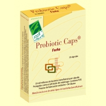 Probiotic Caps Forte - 30 cápsulas - 100% Natural