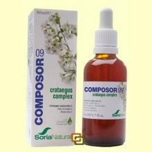 Composor 9 - Crataegus Complex - 50 ml - Soria Natural