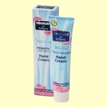 Crema de Manos Regenerante con Probióticos de Yogur - 75 ml - Yogur de Bulgaria